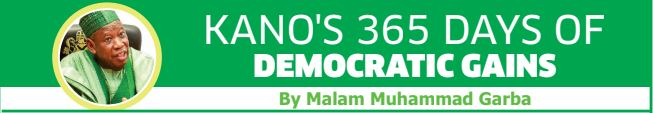 Kano 365 days of democracy