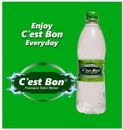 Cest Bon Table Water