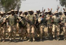 Troops of Nigerian Army